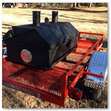 4ft Charcoal Wood Smoker Grill