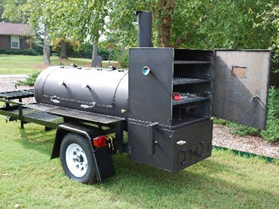 Barbecue Cooker, Smokers, barbecue grill, pizza ovens, wood