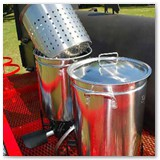 Stainless Steel Pots (Assorted Sizes)